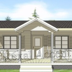 Casa lemn 7.00 m x 6.00 m cu terasa 180 cm
