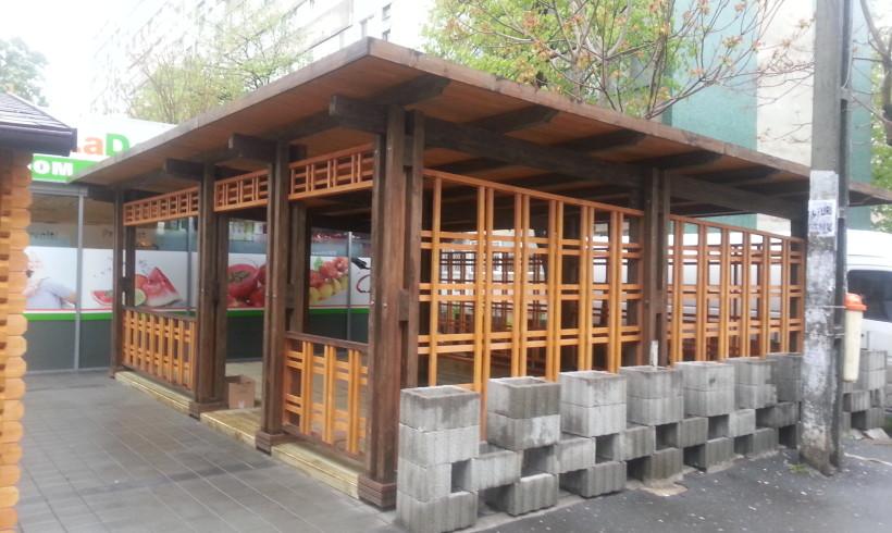 Terasa din lemn – Bucuresti aprilie 2014