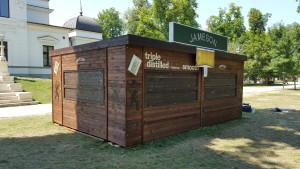 Chioscuri comerciale din lemn