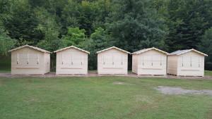 Chioscuri din lemn in panouri, chioscuri comerciale din lemn
