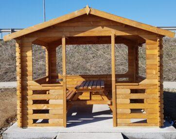 Foisor din lemn pentru gradina VEGA